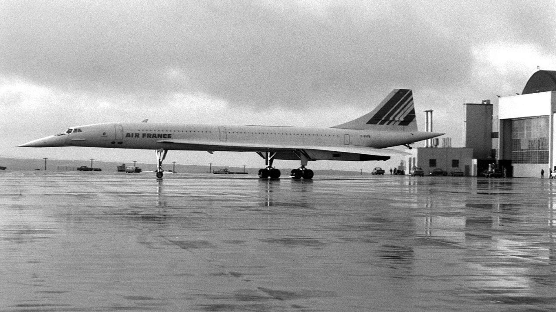 """Свръхзвуковият самолет """"Конкорд"""""""