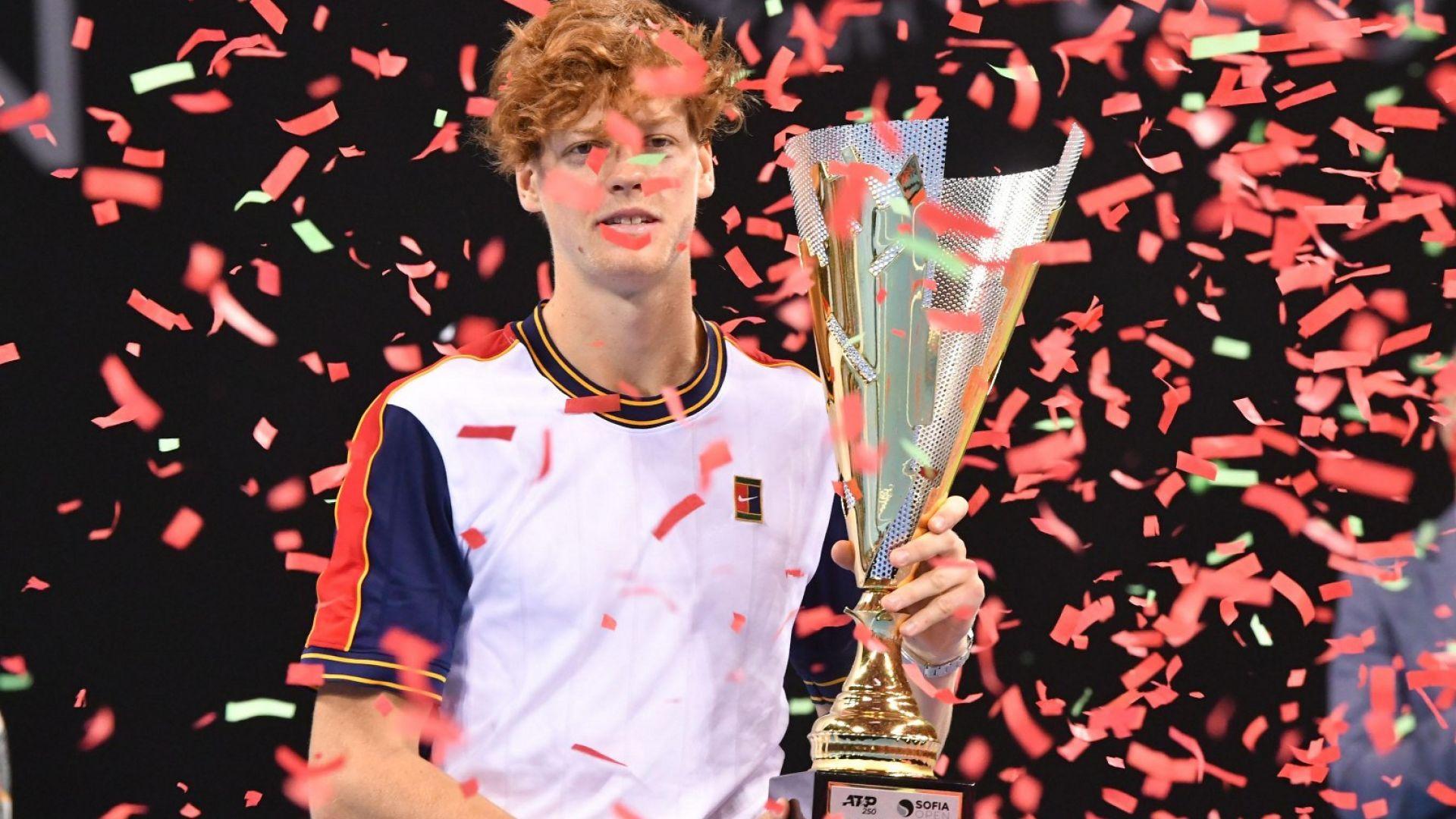 Младият Яник Синер стана първият защитил титлата си в София