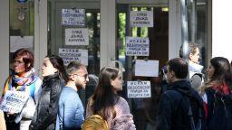 Старозагорци отново протестират пред КАТ след серията тежки катастрофи в града