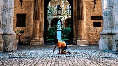 Историята на единствената улица в Хавана, павирана с дърво