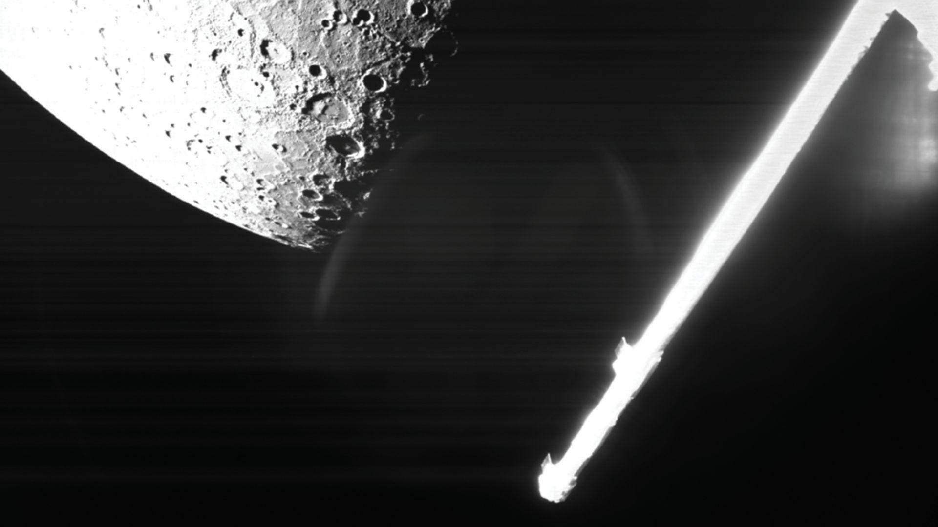 Европа с първи снимки от Меркурий