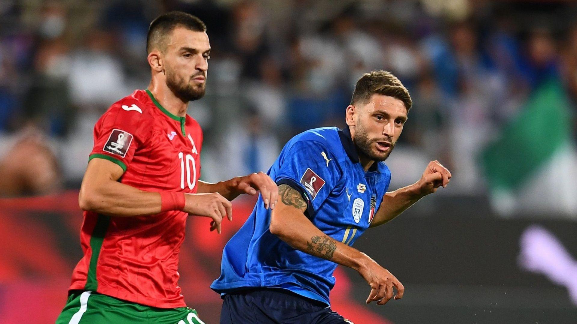 Нападател на ЦСКА замени контузения капитан на България