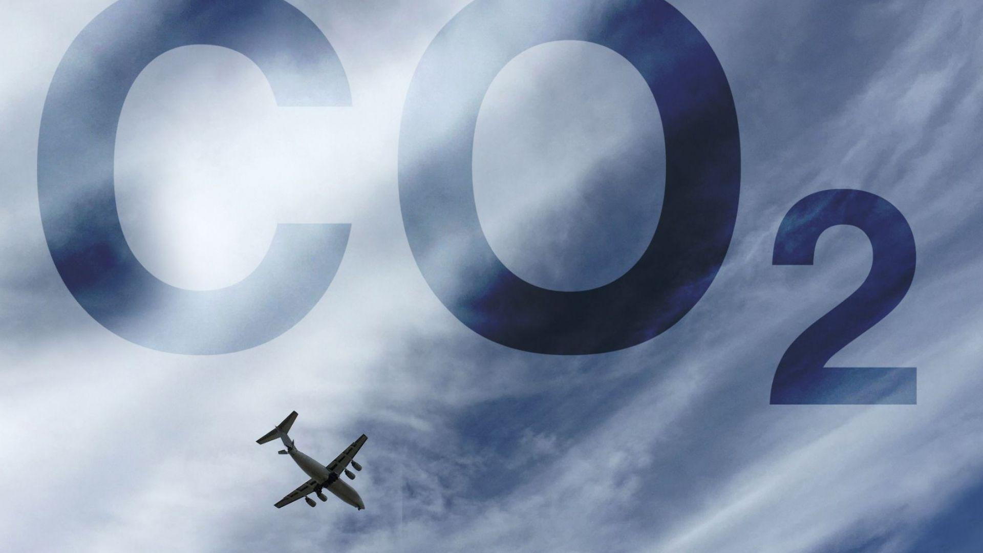 """До 2050 г.: Вредните емисии на авиокомпаниите ще са равни на """"0"""""""
