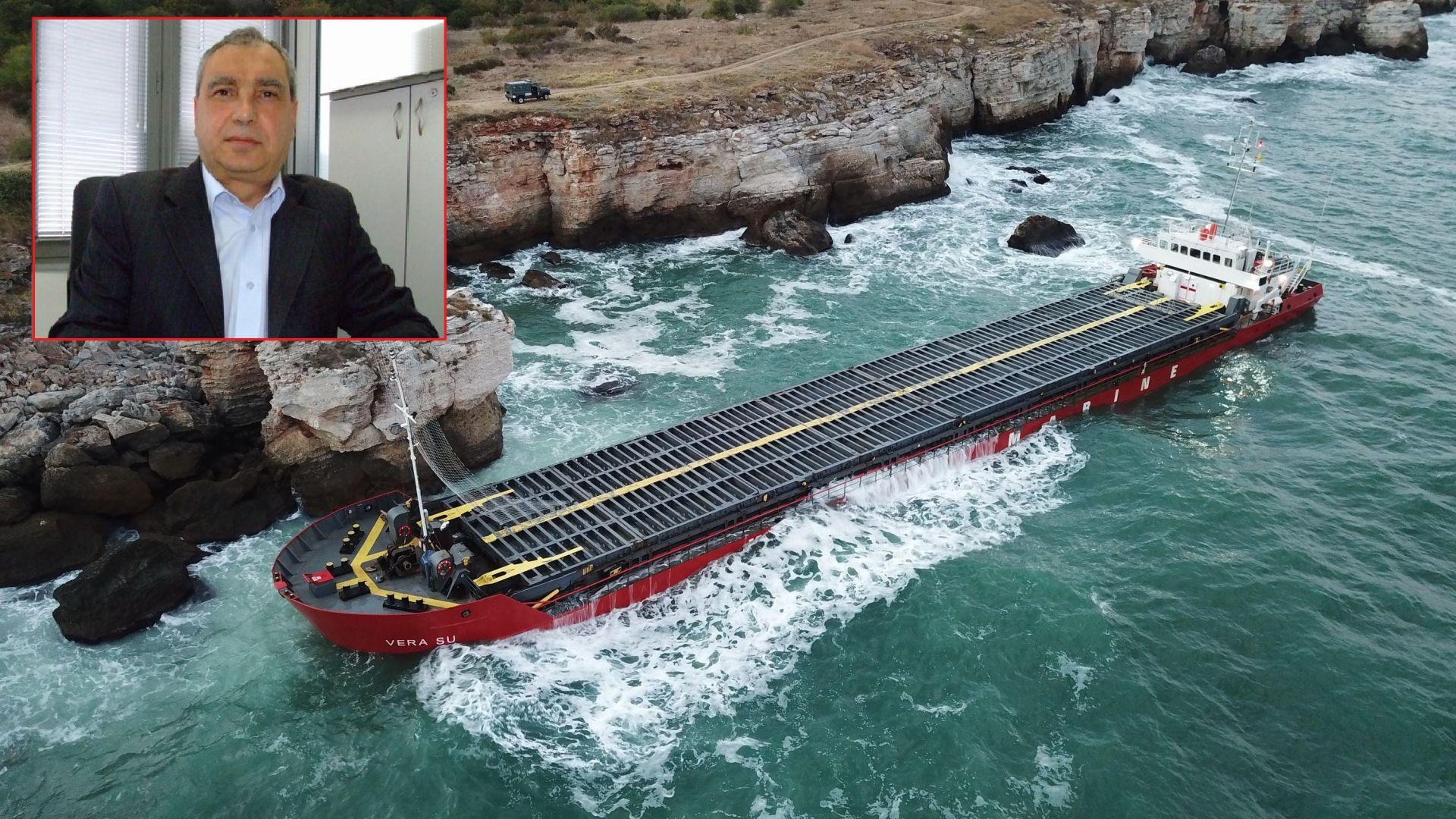 """Кап. Богданов: Операцията за """"Vera Su"""" нанесе шамар върху авторитета на Морска България"""