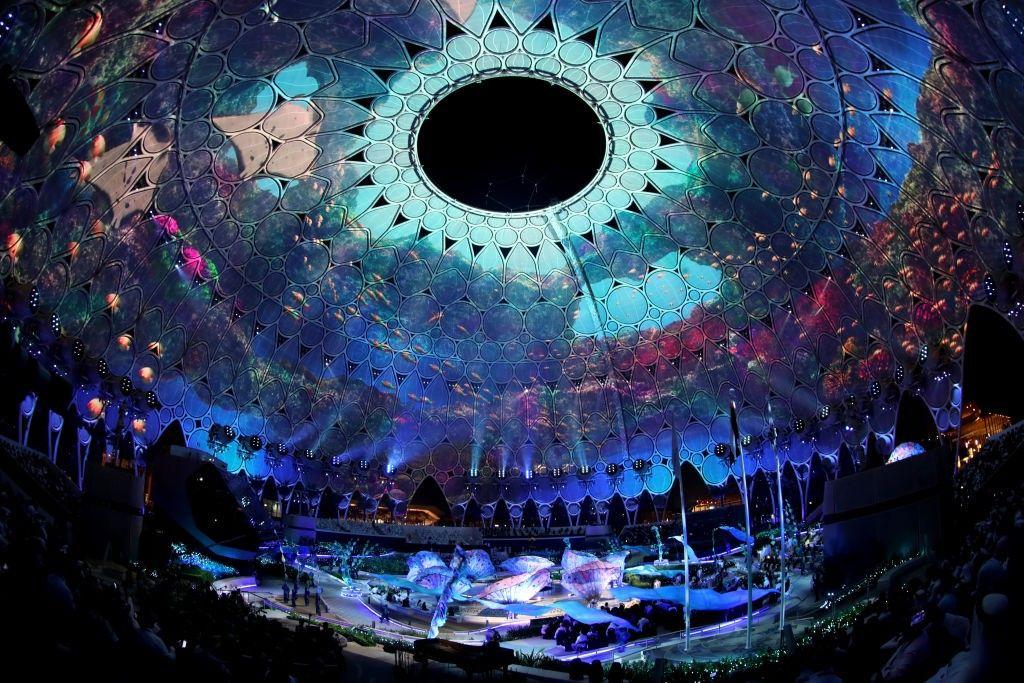 Откриването на Експо 2020 в Дубай