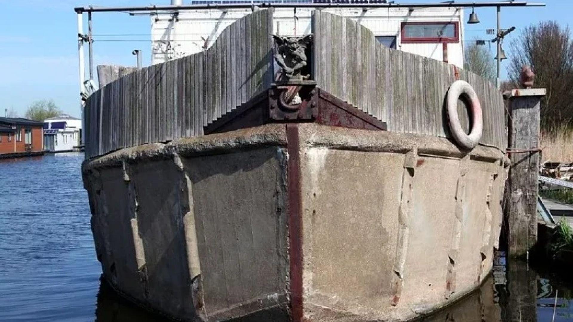 Русия строи кораби от... бетон
