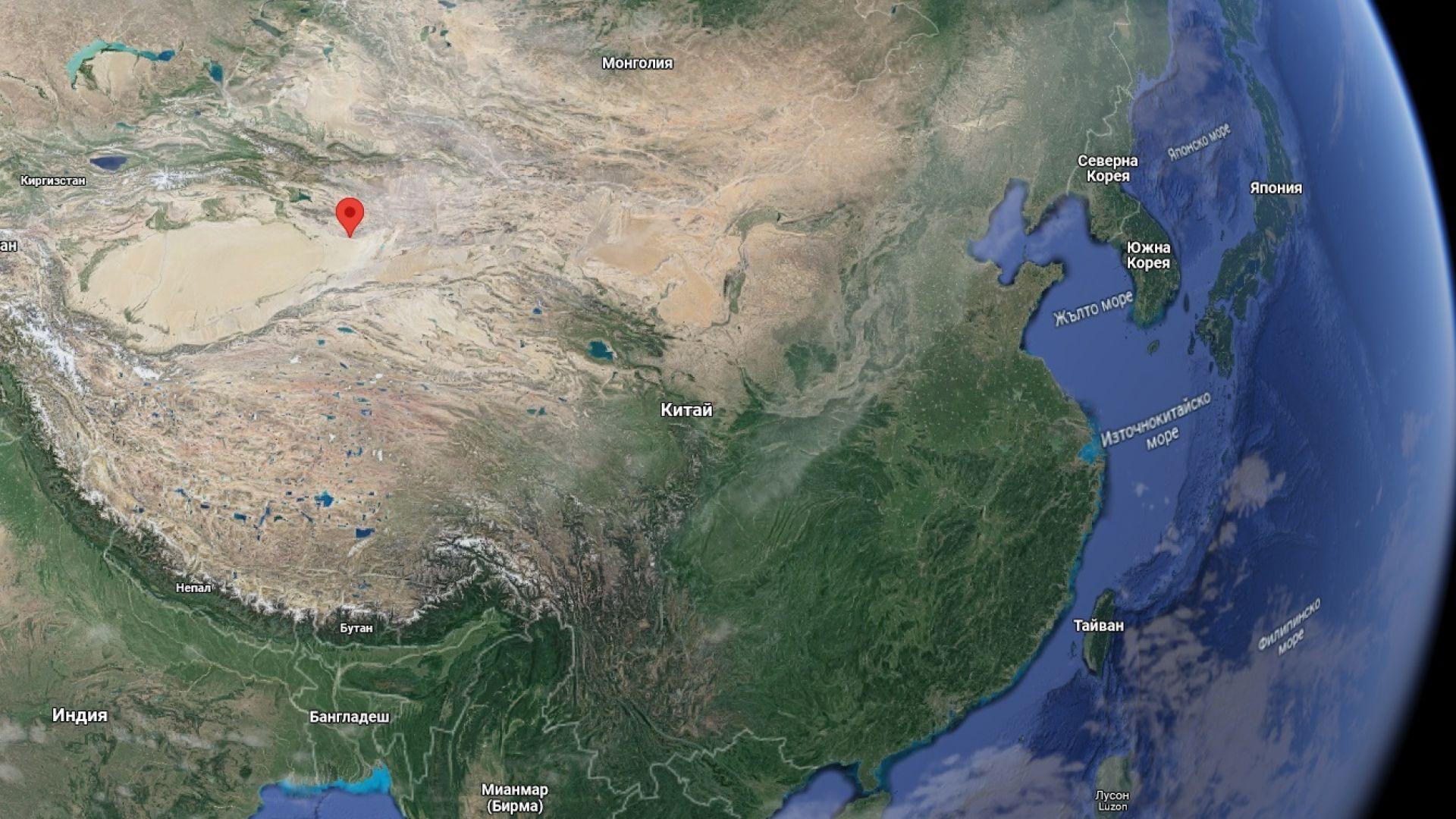 """""""Китайската Зона 51"""" е разположена в най-малко населените и далечни от САЩ и Япония части на Китай"""