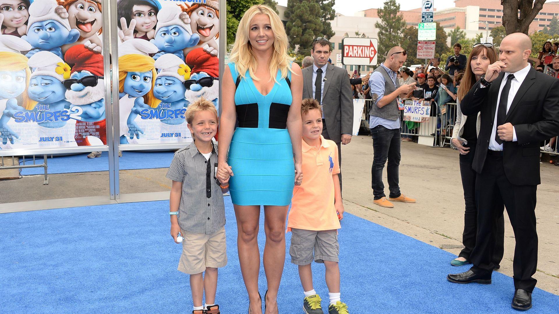 Вижте колко са пораснали синовете на Бритни Спиърс