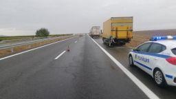"Несъобразена скорост на автомобила довел до смъртоносното меле с тирове на ""Тракия"""