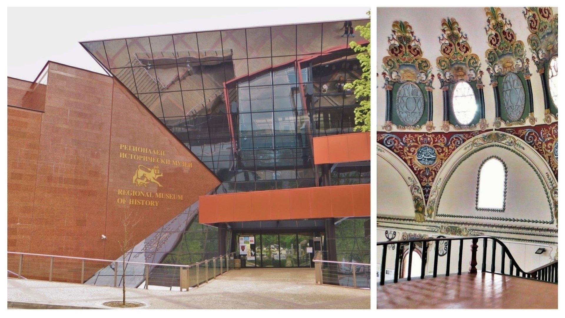 Старозагорският исторически музей (вляво) и Музеят на религиите (вдясно) са малко известни, но са истински находки