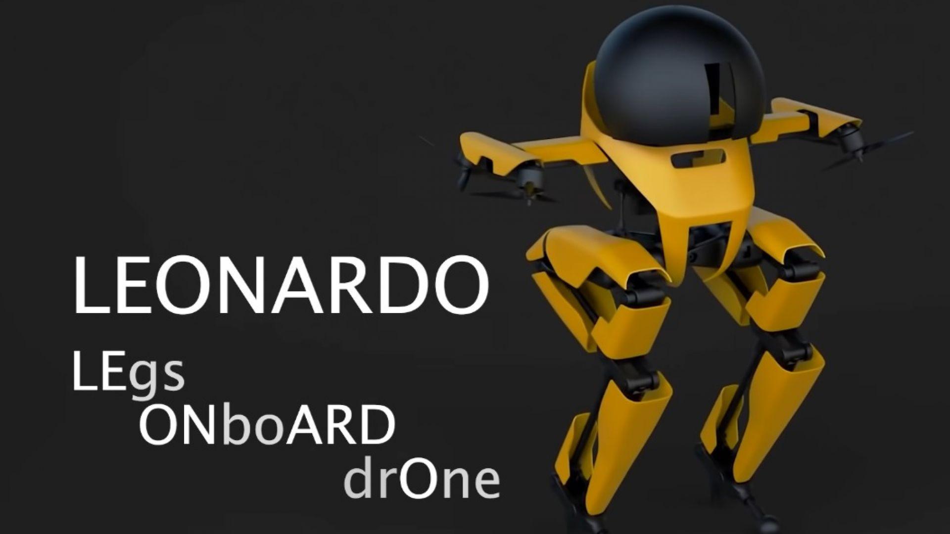 Създадоха нов зловещ робот, който може да ходи и лети (видео)