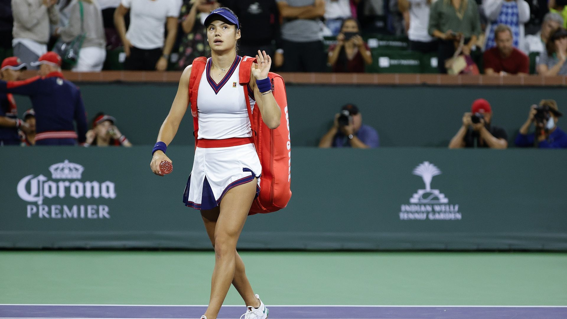 Приземяване: Ема Радукану загуби първия си мач след триумфа на US Open