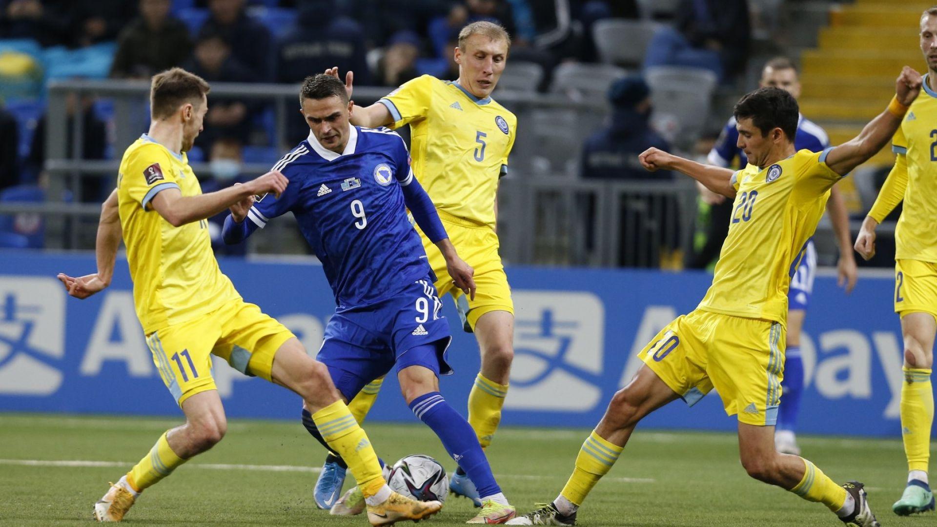 Ивайло Петев дочака първата си победа с Босна в официален мач