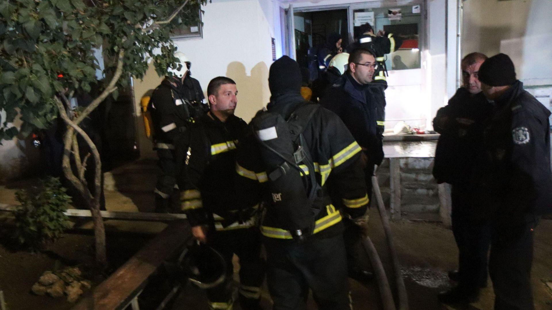 Човешка дейност е причинила пожара във Варна, в който загинаха 2 деца