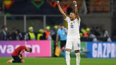 Франция обърна и Испания в убийствено добър мач, за да ликува в Лигата на нациите
