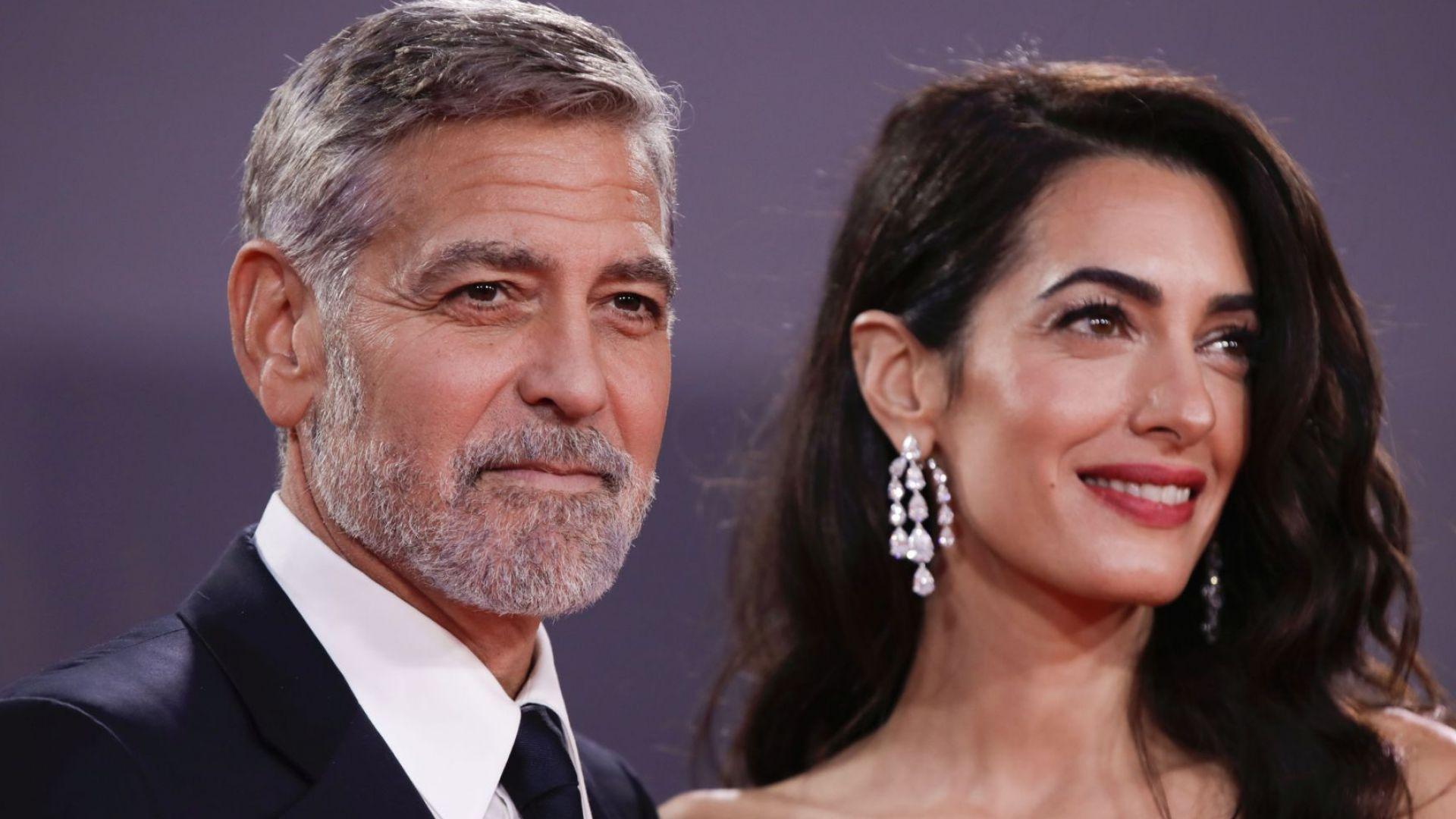 Джордж и Амал Клуни обраха овациите в Лондон