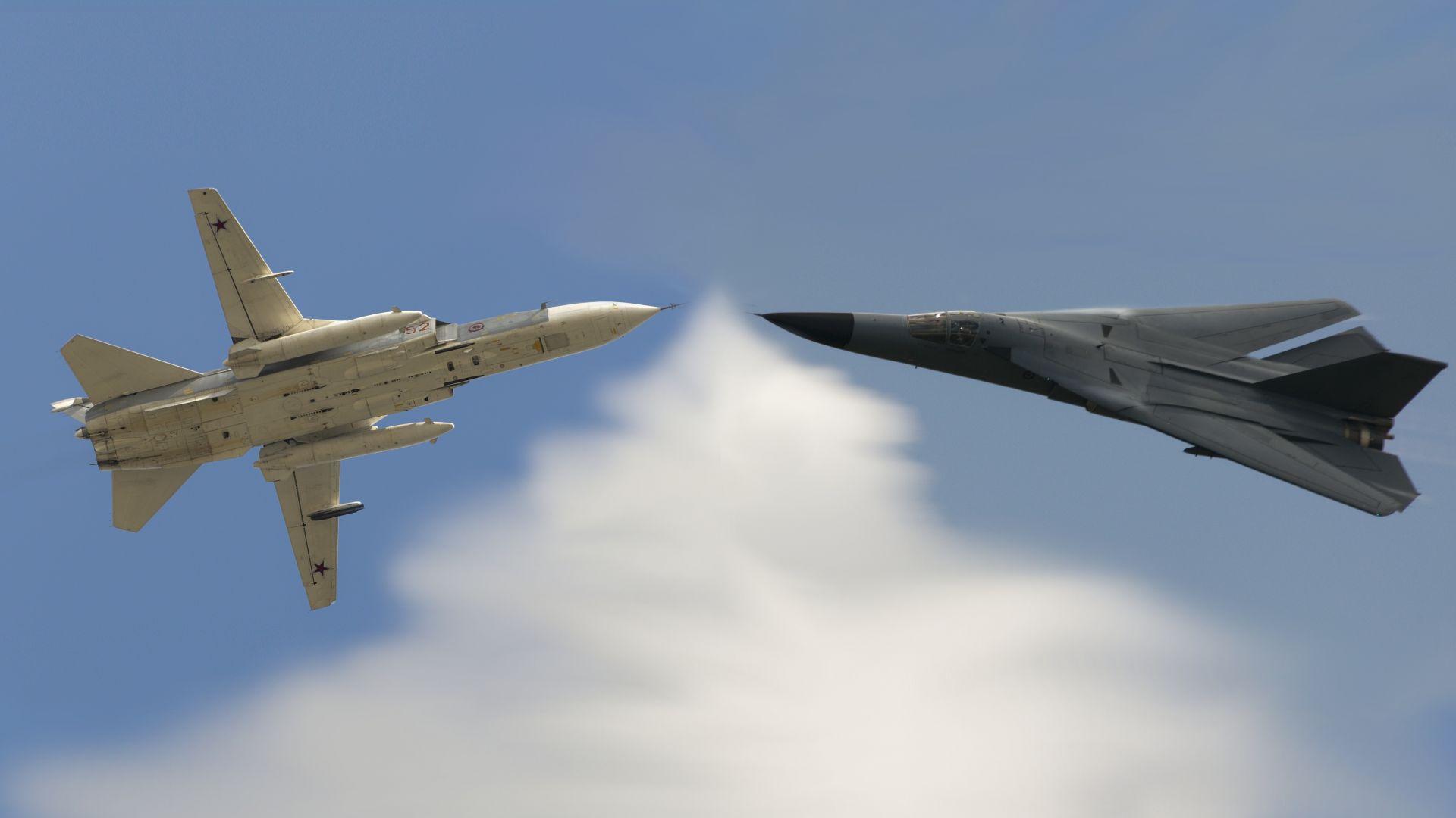 F-111 срещи Су-24 или защо Русия все още ползва самолет на 50 години