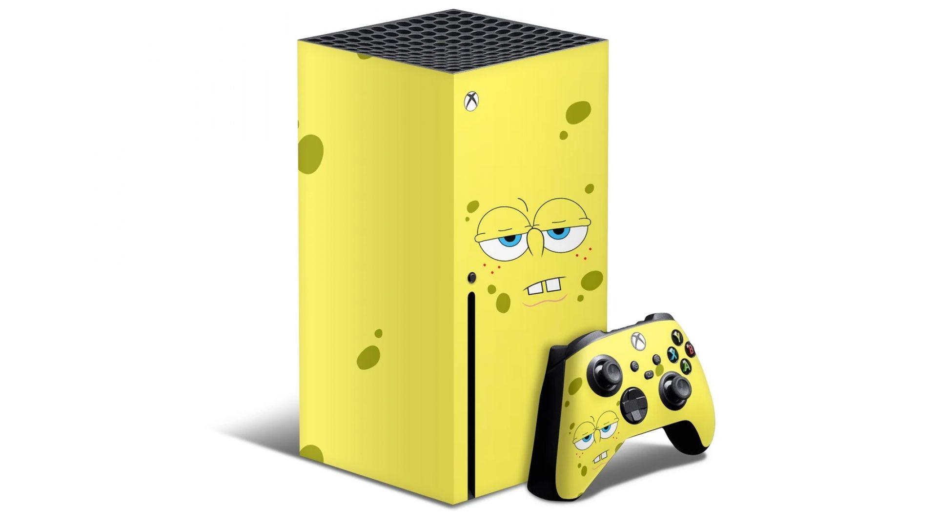 """Xbox Series X се преоблече като """"Спонджбоб квадратни гащи"""""""