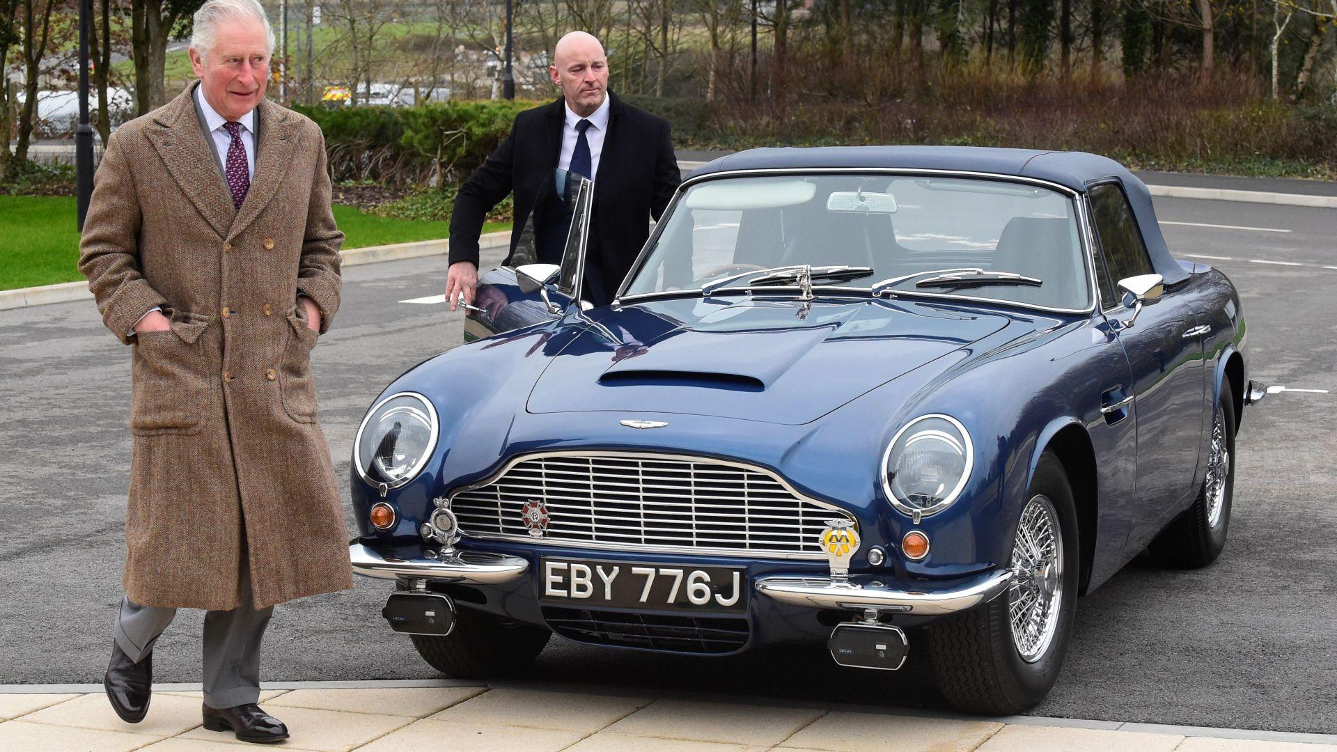 Колата на принц Чарлз се движи с гориво, произведено от вино и сирене