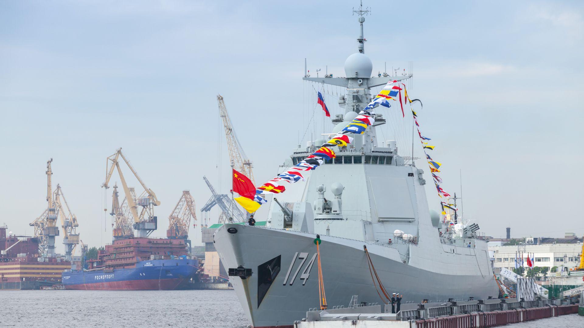 Китай създава флотиия от безпилотни бойни кораби