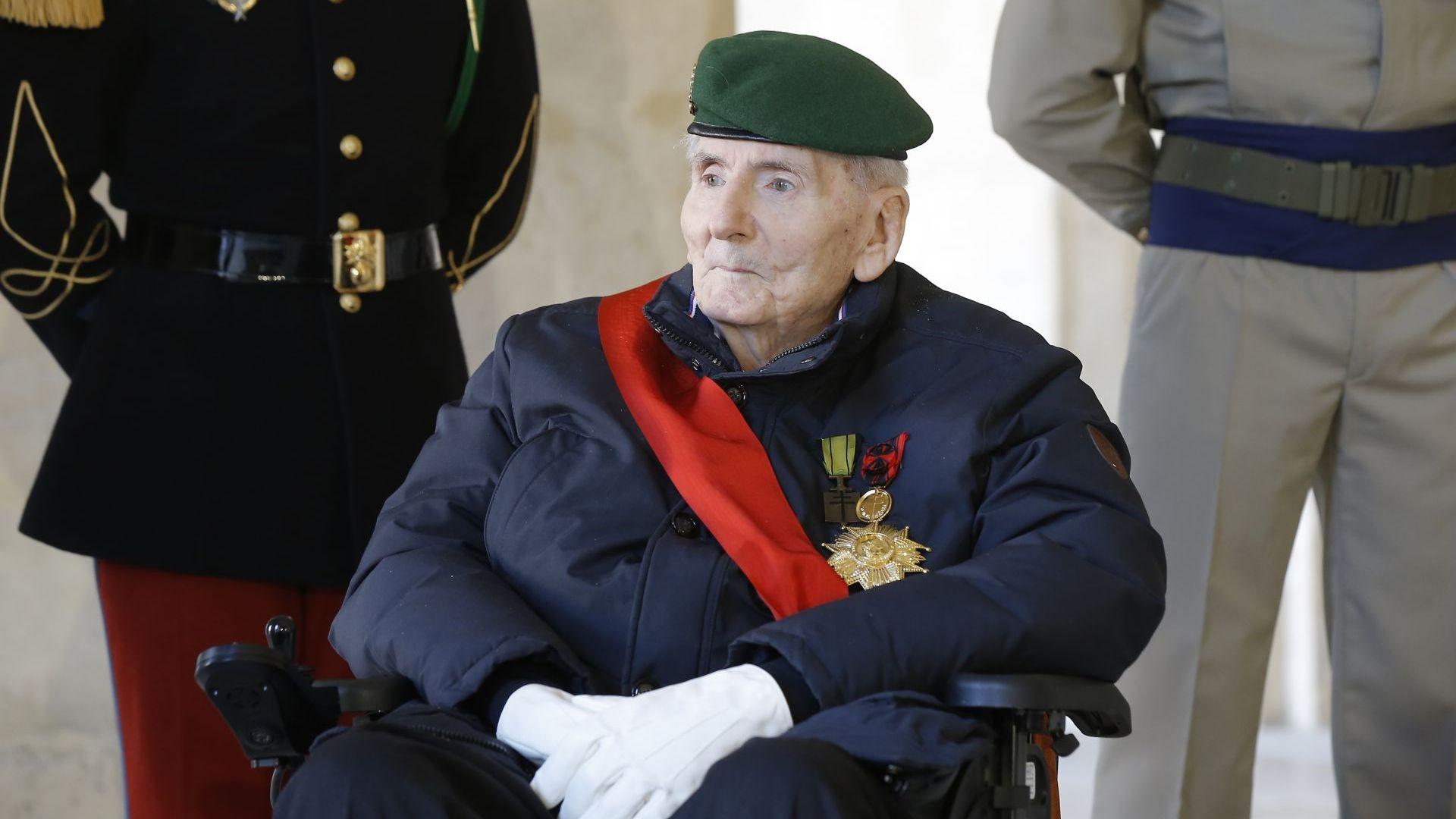 Почина последният жив боец от Френската съпротива