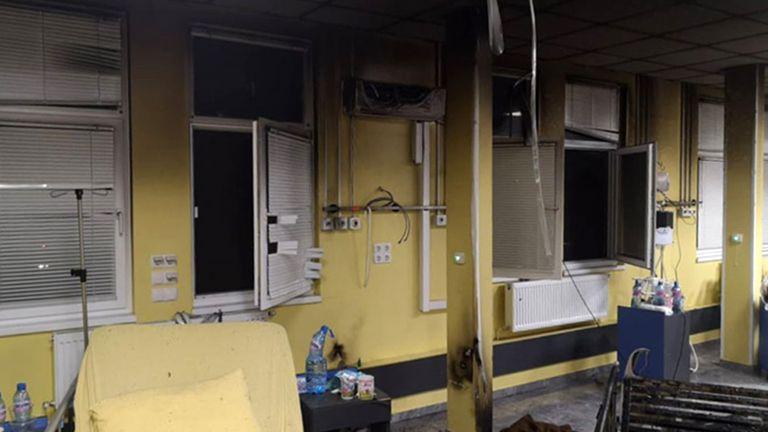 Пациентка подпали стая в covid отделение в Русе (снимки)