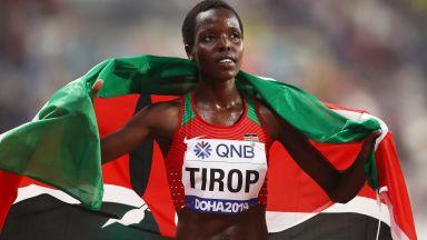 Арестуваха съпруга на убитата кенийска звезда в бягането