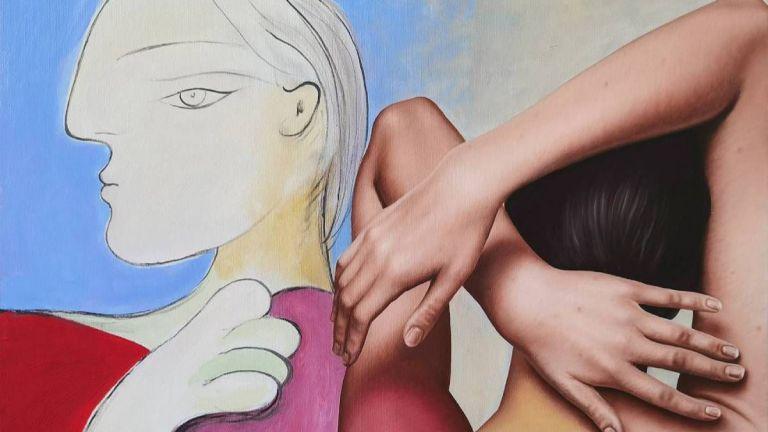 """Предизвикателството """"Да докоснеш Пикасо"""" от брилянтния Димитър Войнов - син"""