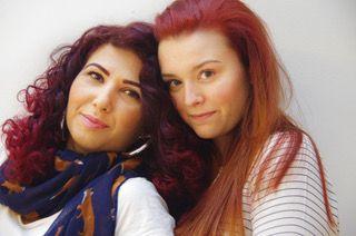 """Мариана и Димитра (вляво) са съавтори на книгата """"Така започна всичко"""""""
