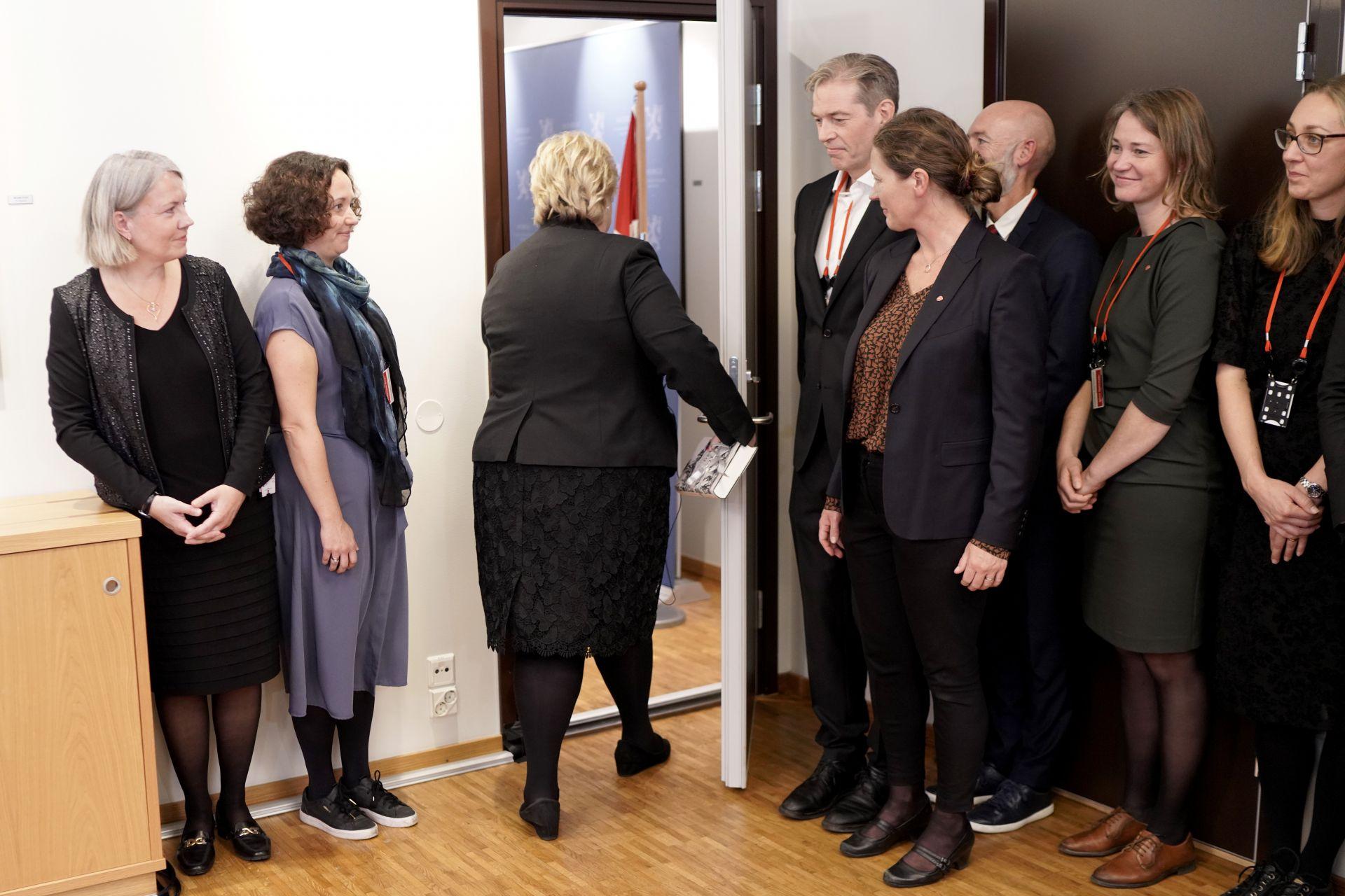 Жените в новото норвежко правителство са мнозинство