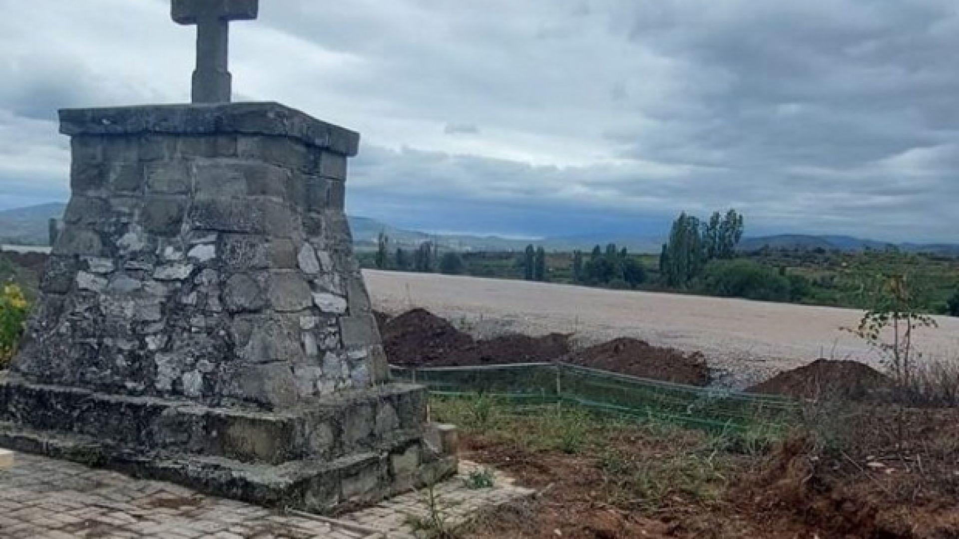 Външно се зае с унищожените войнишки гробища в Северна Македония