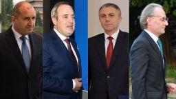 Радев с шанс за над 50%, Герджиков с по-висок рейтинг от Борисов, Карадайъ изпреварва Панов