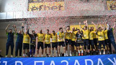 Хебър спечели волейболната Суперкупа на България