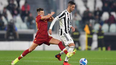 Ювентус с минимален, но важен успех срещу Рома и Моуриньо