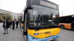 Пускат 30 нови електробуса в столичния градски транспорт (снимки)