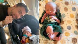 Ланс Бас от популярната през 90-те група NSYNC стана баща на близнаци