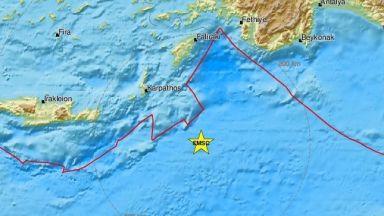 6,1 по Рихтер удари гръцкия остров Карпатос (видео)