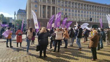Протест срещу скъпия ток блокира центъра на София (снимки)