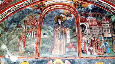 Почетоха празника на св. Иван Рилски в параклиса на Меча поляна