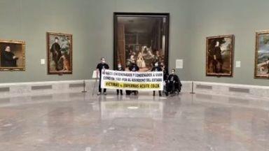 Оцелели от масово отравяне в Испания окупираха музей и заплашиха със самоубийство (видео)