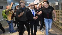 Протести и напрежение в София и страната, нападнаха министър Денков
