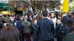 Протест срещу сертификатите блокира движението в центъра на София