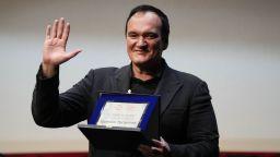 Тарантино получи награда за цялостно творчество в Рим