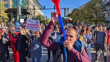 Рестораньори протестираха във Варна (снимки)