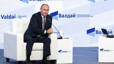 """Путин: Русия може да увеличи газовите доставки, когато Германия одобри  """"Северен поток 2"""""""