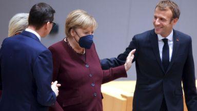 Европейските лидери се сбогуваха с Ангела Меркел с емоционално видео (снимки/видео)