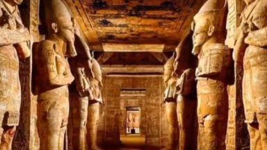"""Стотици наблюдаваха древноегипетското слънчево """"чудо"""" в Абу Симбел (видео)"""