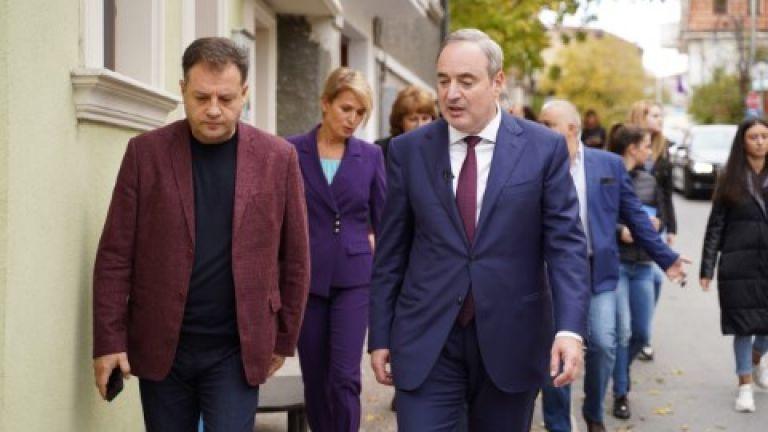 Проф. Анастас Герджиков заяви, че ако бъде избран за държавен
