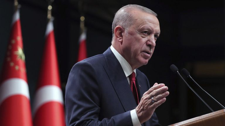 Турският президент Реджеп Тайип Ердоган заяви днес, че е наредил