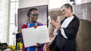 Наградата за мир на Франкфуртския панаир  на книгата получи писателката Цици Дангарембга